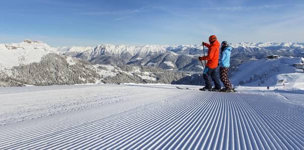 Nassfeld Skifahren genießen