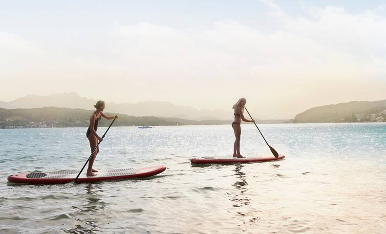 Woerthersee Stand up Paddling
