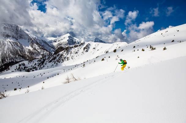 Skitour und Free Ski am Goldeck