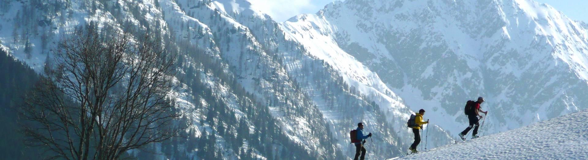 Skitour im Lesachtal in der Naturarena Kärnten