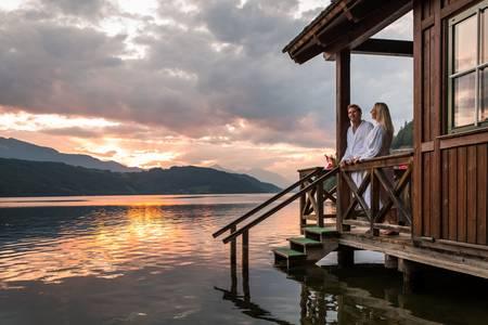 Fietstocht van de Millstätter See naar de Ossiacher See