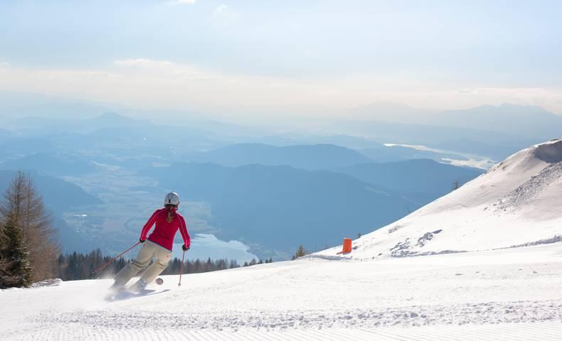 Sonnenskilauf Gerlitzen Alpe