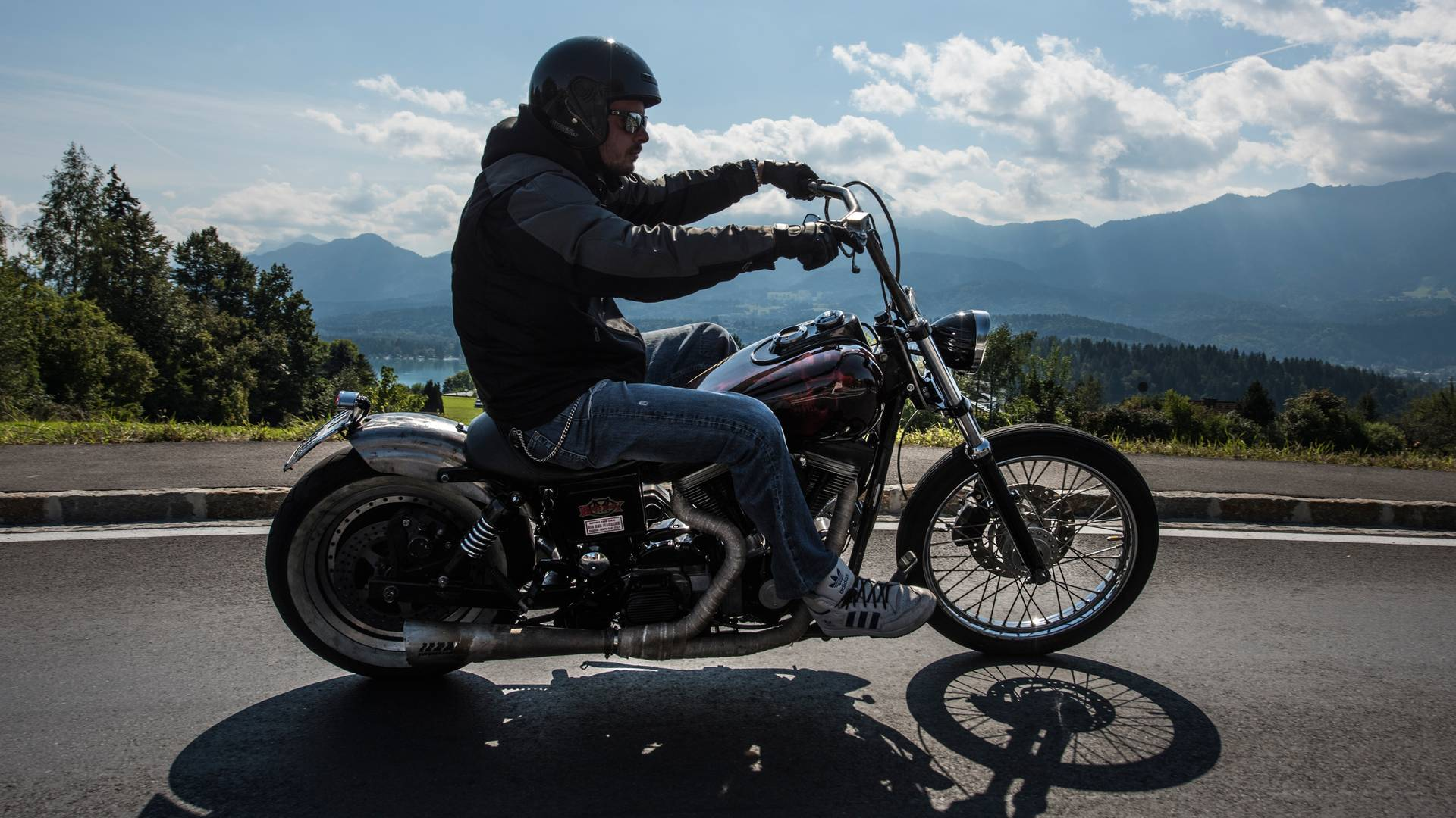 Harley Davidson, European Bike Week am Faaker See