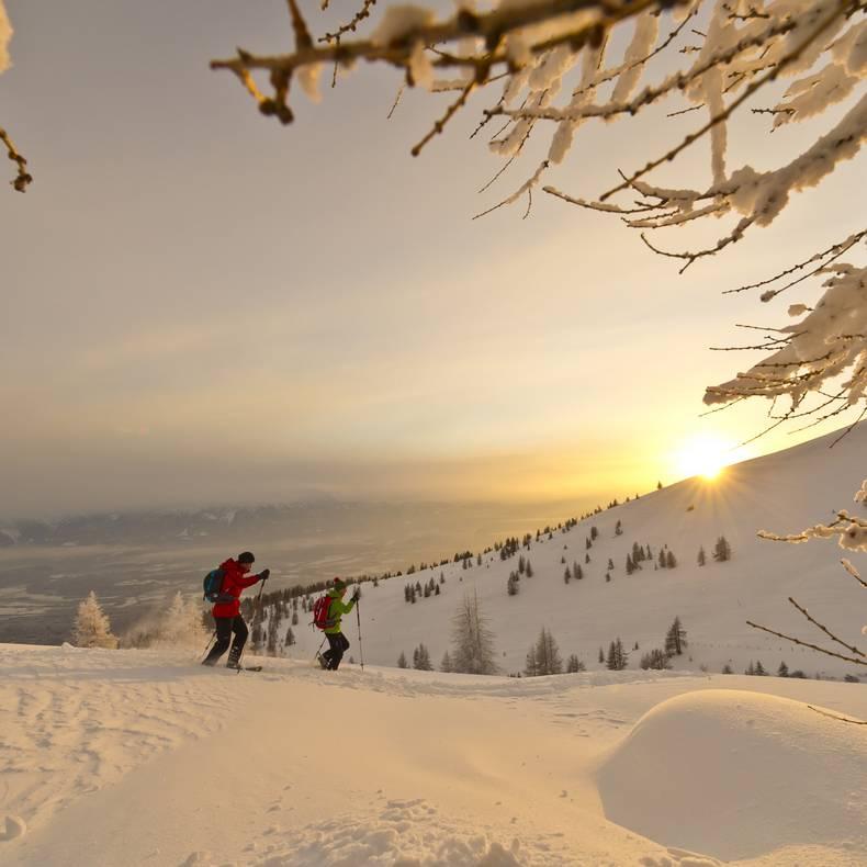 Schneeschuhwandern auf der Gerlitzen Alpe