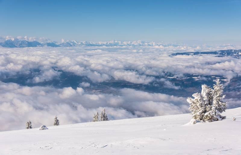 Lavanttal im Winter