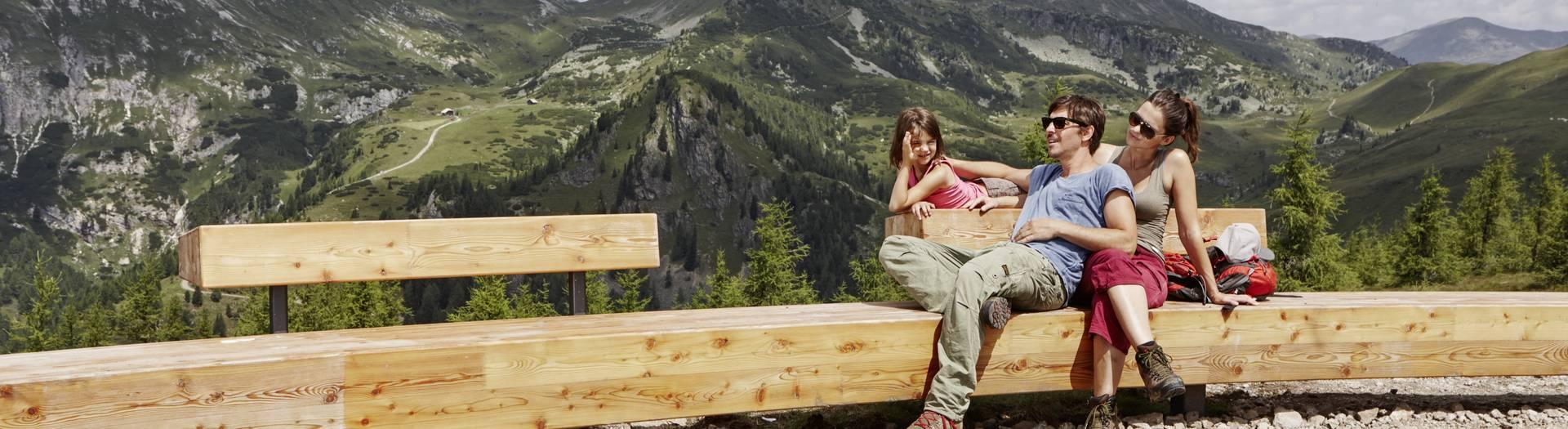 Wandern und Nock Art in der Region Bad Kleinkirchheim