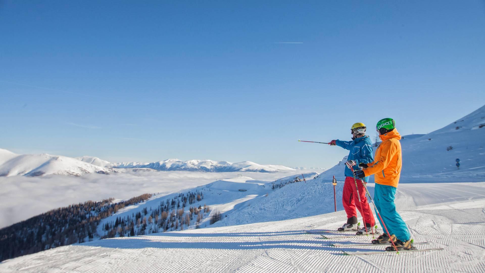 Skifahren in der Region Bad Kleinkirchheim