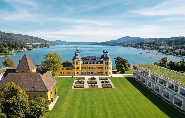 Falkensteiner Schlosshotel Velden am Wörthersee_Luftaufnahme