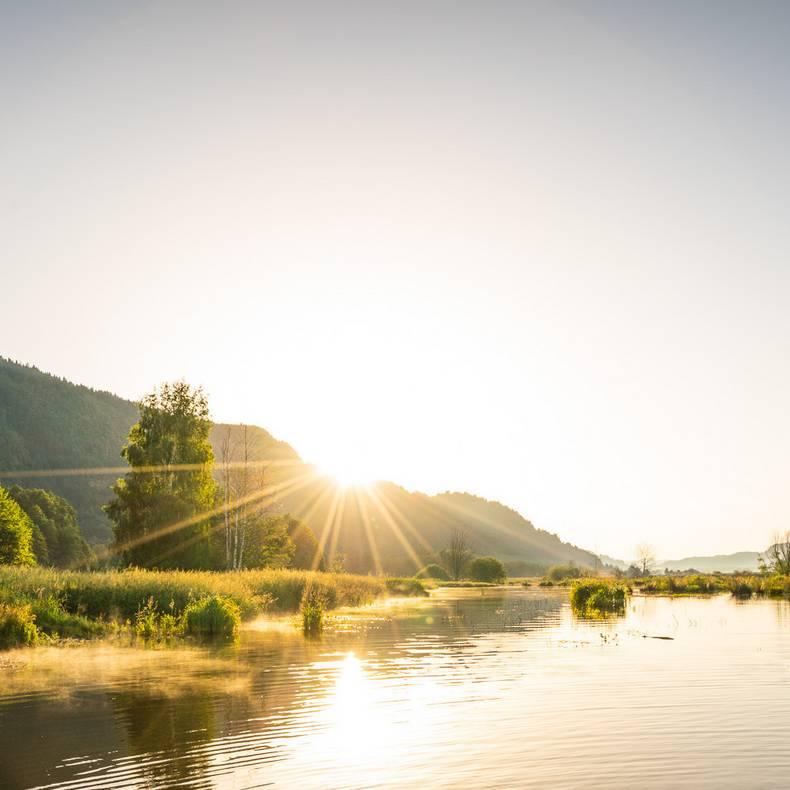 Slow Trail Bleistätter Moor am Ossiacher See