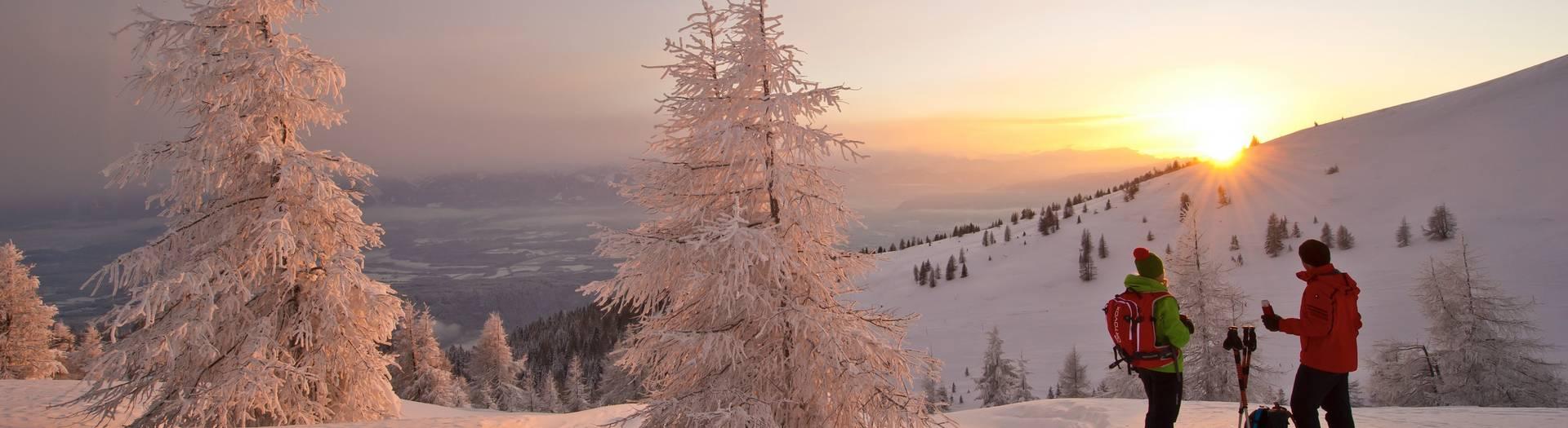 Gerlitzen Winteridylle
