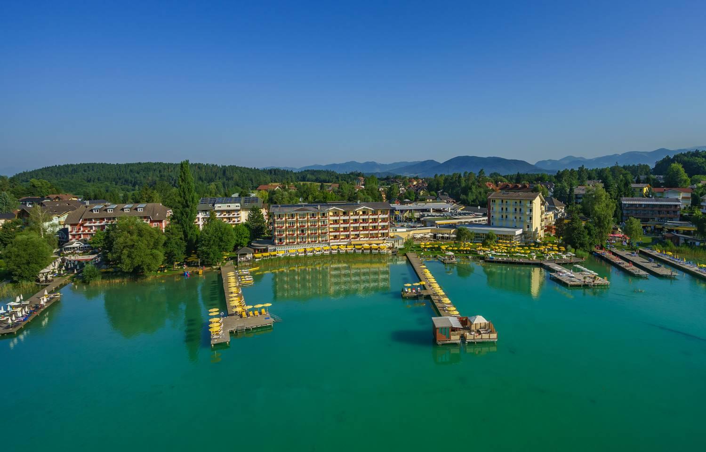 Hotel Sonne am Klopeiner See_Luftaufnahme